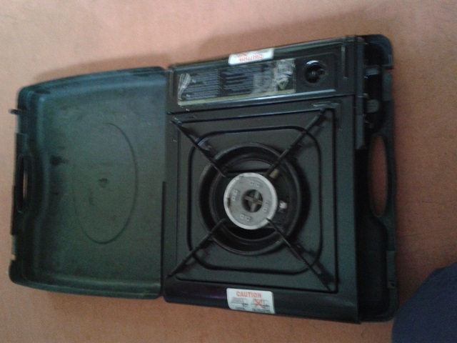 gas cooker (one ring)